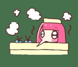 Mosquito Ka-Ko Chan. sticker #2607559
