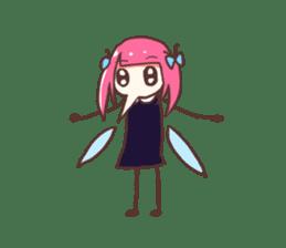 Mosquito Ka-Ko Chan. sticker #2607561