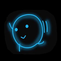 neon message