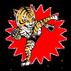 Fierce Animal Sticker (English version)