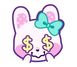 Pastel Bunny sticker #2613652