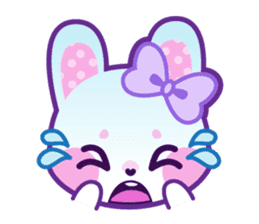 Pastel Bunny sticker #2613667