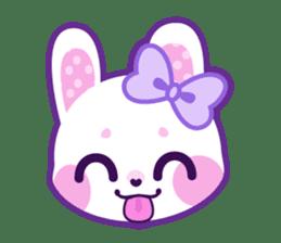 Pastel Bunny sticker #2613669
