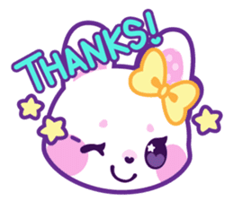 Pastel Bunny sticker #2613673