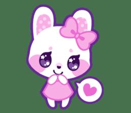 Pastel Bunny sticker #2613676