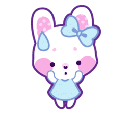 Pastel Bunny sticker #2613679