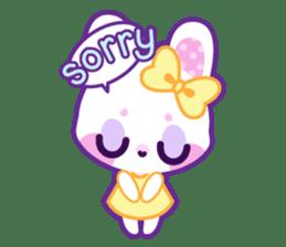 Pastel Bunny sticker #2613681