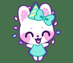 Pastel Bunny sticker #2613684