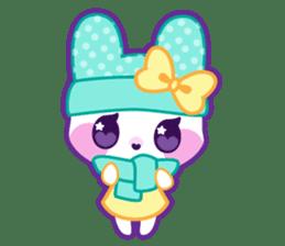 Pastel Bunny sticker #2613687