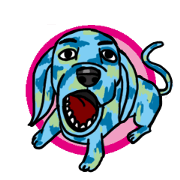 สติ๊กเกอร์ไลน์ Dogs In Camo