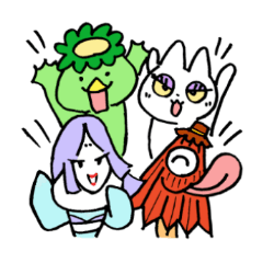 Okeihan's Japanese monsters