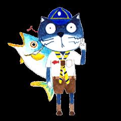 MUMU CAT & FISH