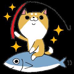 Shiba-ryman goes to the fishing