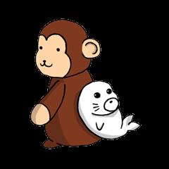 Nana-chan and Shiro-chan