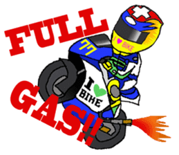 I love motorcycle sticker #2630535