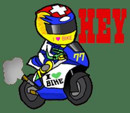 I love motorcycle sticker #2630553