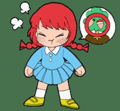Dream girl ~crepe of wood version~ sticker #2645985