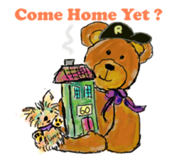 Rossy the Bears & Yorkie Coco I (Eng) sticker #2651595
