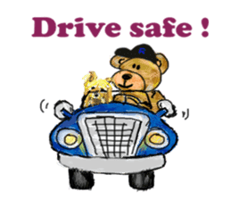 Rossy the Bears & Yorkie Coco I (Eng) sticker #2651596