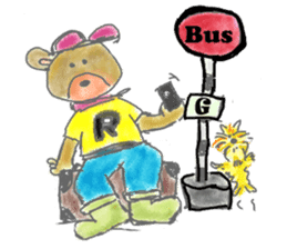 Rossy the Bears & Yorkie Coco I (Eng) sticker #2651599