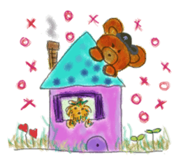 Rossy the Bears & Yorkie Coco I (Eng) sticker #2651603