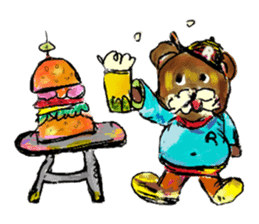 Rossy the Bears & Yorkie Coco I (Eng) sticker #2651608