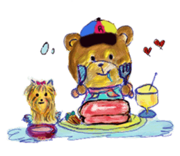 Rossy the Bears & Yorkie Coco I (Eng) sticker #2651614