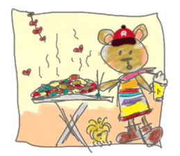 Rossy the Bears & Yorkie Coco I (Eng) sticker #2651616