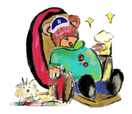 Rossy the Bears & Yorkie Coco I (Eng) sticker #2651618