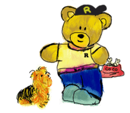 Rossy the Bears & Yorkie Coco I (Eng) sticker #2651619
