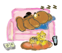 Rossy the Bears & Yorkie Coco I (Eng) sticker #2651624