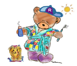 Rossy the Bears & Yorkie Coco I (Eng) sticker #2651625