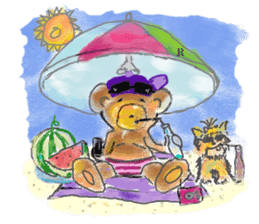 Rossy the Bears & Yorkie Coco I (Eng) sticker #2651627