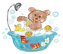 Rossy the Bears & Yorkie Coco I (Eng) sticker #2651631
