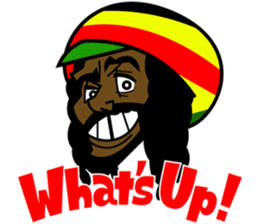 Reggae Sticker sticker #2662731