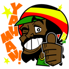 Reggae Sticker sticker #2662732
