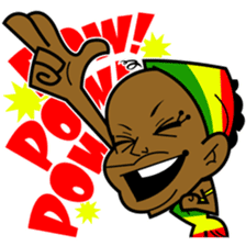 Reggae Sticker sticker #2662736