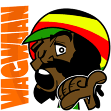 Reggae Sticker sticker #2662738