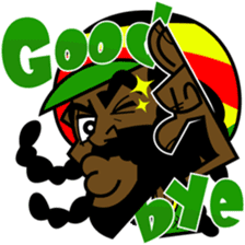 Reggae Sticker sticker #2662745