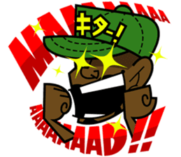 Reggae Sticker sticker #2662748