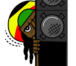 Reggae Sticker sticker #2662751
