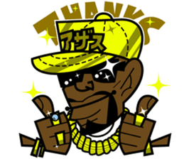 Reggae Sticker sticker #2662759