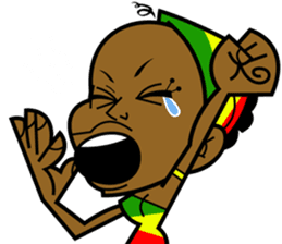 Reggae Sticker sticker #2662765