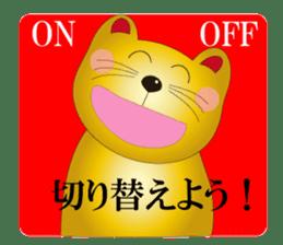 Happy Beckoning gold cat vol.2 sticker #2666620