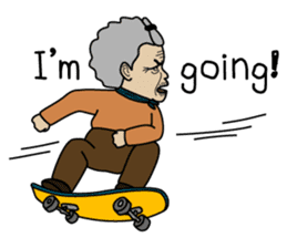 Grandma Ama sticker #2670094