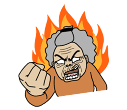 Grandma Ama sticker #2670115