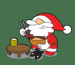 Lazy Santa Claus sticker #2671978
