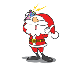 Lazy Santa Claus sticker #2671983