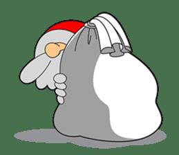 Lazy Santa Claus sticker #2671986