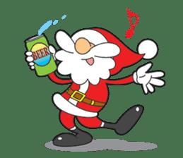 Lazy Santa Claus sticker #2671989